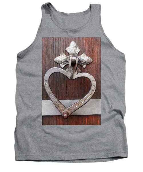 Tank Top featuring the photograph Shape Of My Heart by Juergen Weiss