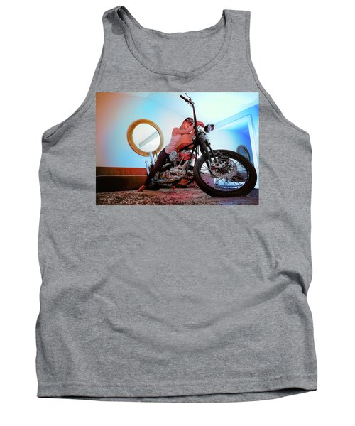 She Rides- Tank Top