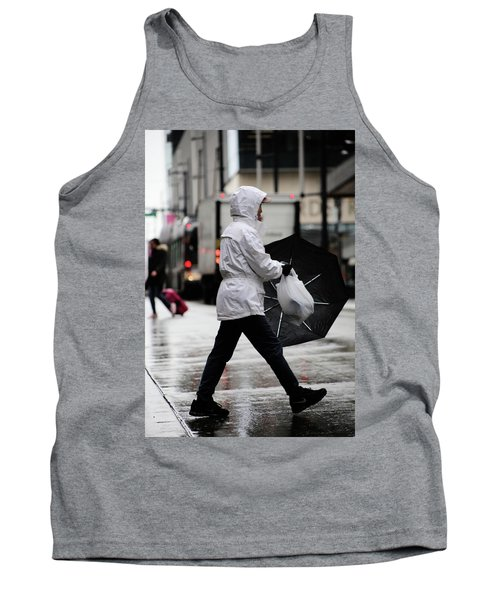 Tank Top featuring the photograph Sheild Of Rain  by Empty Wall