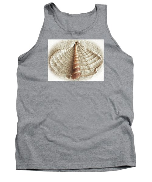 Shell In The Sand Tank Top