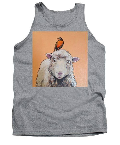 Shelley The Sheep Tank Top
