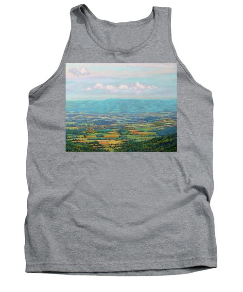 Shenandoah Blue Tank Top