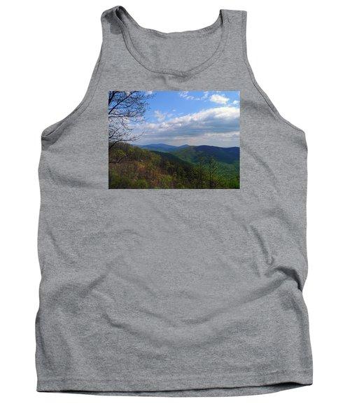 Tank Top featuring the photograph Shenandoah Skies by Lynda Lehmann