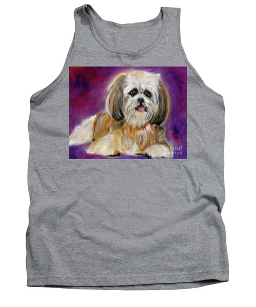 Shih-tzu Puppy Tank Top by Jenny Lee