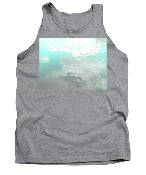 Tank Top featuring the photograph Let The Water Wash Over You. by Rebecca Harman