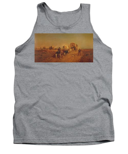 Ship Of The Plains Tank Top