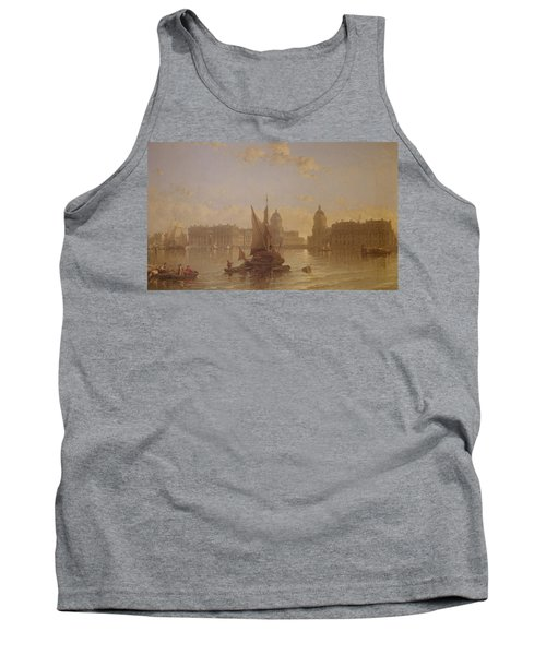 Shipping On The Thames At Greenwich Tank Top