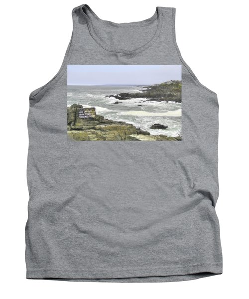 Shipwrecked Tank Top by Sharon Batdorf