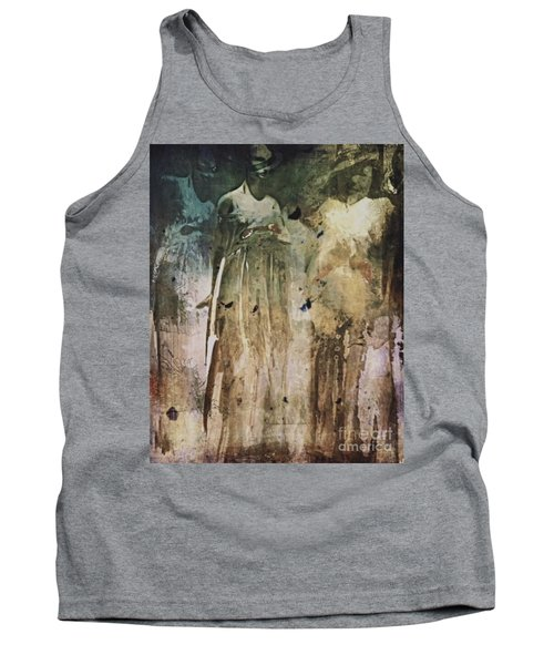 Tank Top featuring the digital art Shop Window by Alexis Rotella