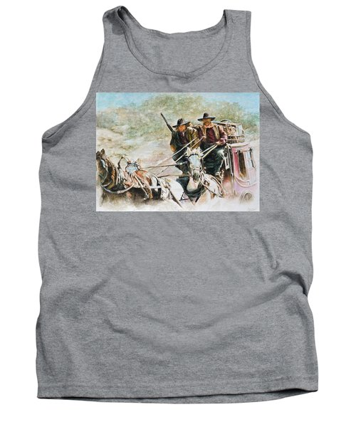 Shot Gun Tank Top by Traci Goebel