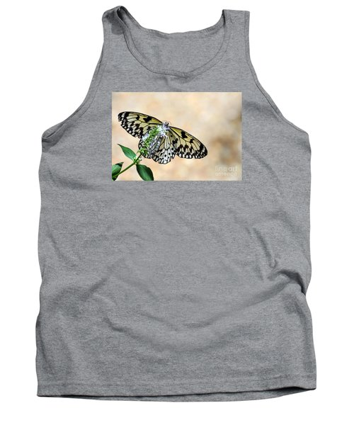 Showy Nymph Tank Top by Debbie Green