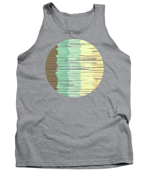 Shreds Of Color 2 Tank Top