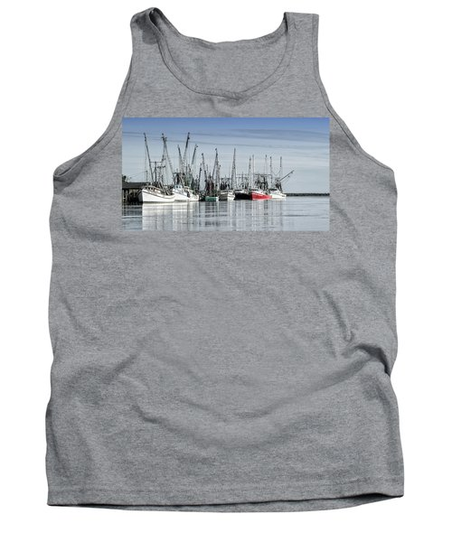 Shrimper's Day Is Done Tank Top