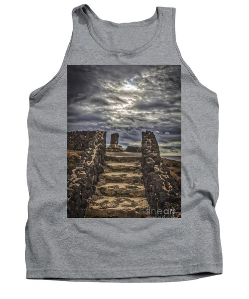 Tank Top featuring the photograph Shrine To Drowned Fishermen by Mitch Shindelbower
