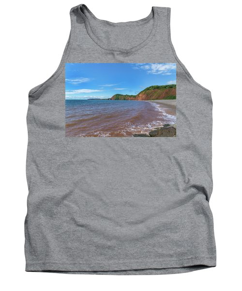 Tank Top featuring the photograph Sidmouth Jurassic Coast by Scott Carruthers