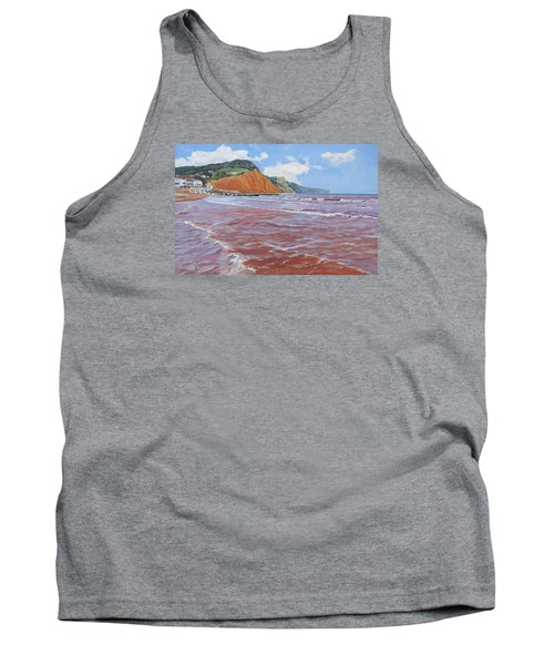Tank Top featuring the painting Sidmouth by Lawrence Dyer