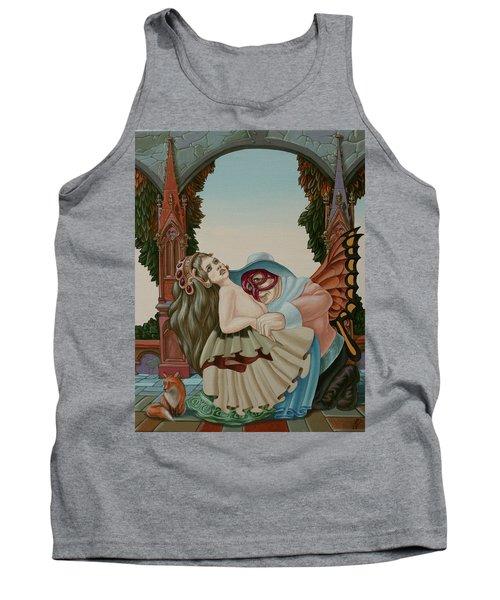 Sigmund Freud With A Fox Tank Top