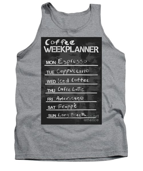 Sign Of A Coffee Lover Tank Top