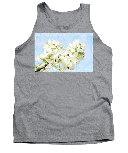 Signs Of Spring Tank Top by Inspirational Photo Creations Audrey Woods