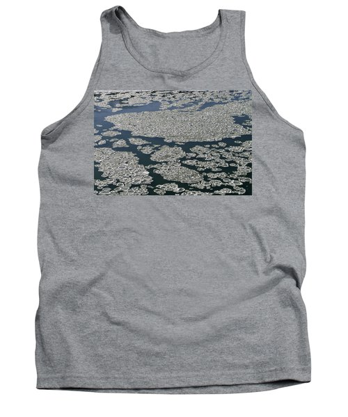 Tank Top featuring the photograph Signs Of Winter by Rhonda McDougall