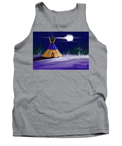 Silence In The Moonlight Tank Top