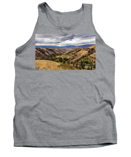 Silence Of Whitebird Canyon Idaho Journey Landscape Photography By Kaylyn Franks  Tank Top
