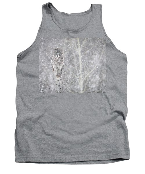 Tank Top featuring the photograph Silent Snowfall Landscape by Everet Regal
