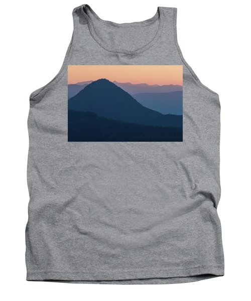 Silhouettes At Sunset, No. 2 Tank Top