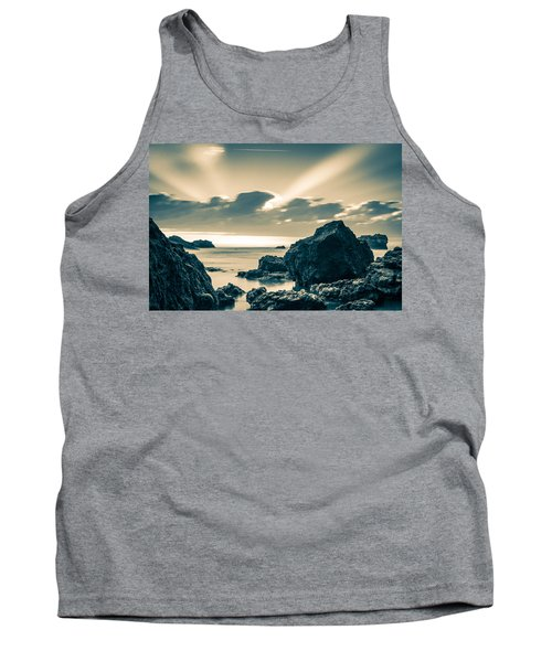 Silver Moment Tank Top by Thierry Bouriat