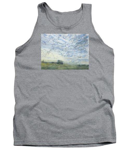 Silver Sky Tank Top