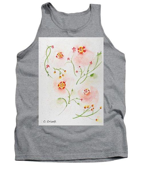 Simple Flowers #2 Tank Top