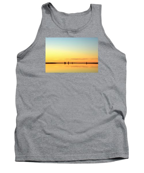 Simple Sunrise Tank Top