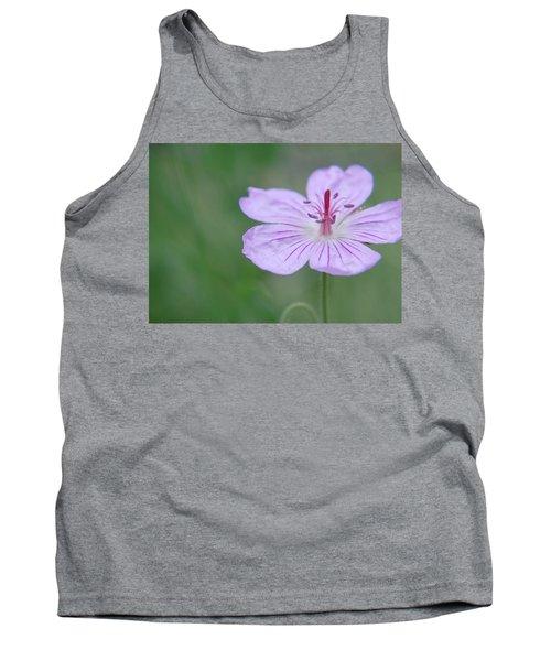 Simplicity Of A Flower Tank Top