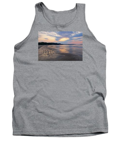 Singing Beach Sandy Beach Manchester By The Sea Ma Sunrise Tank Top