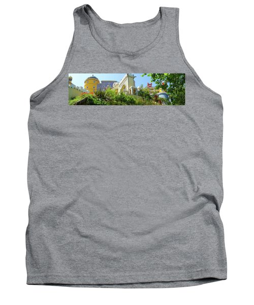 Tank Top featuring the photograph Sintra Castle by Patricia Schaefer