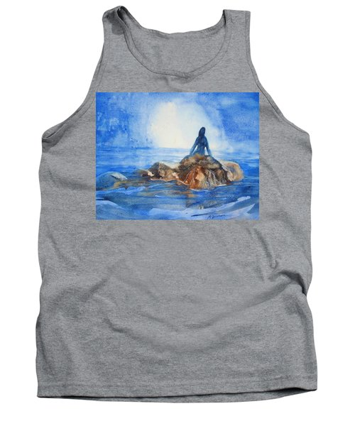 Siren Song Tank Top by Marilyn Jacobson