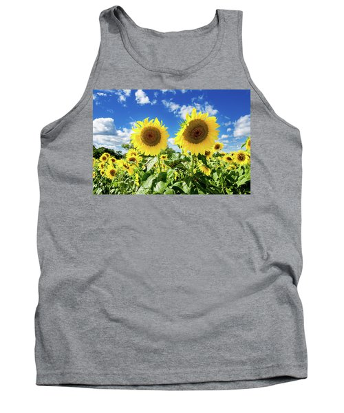 Tank Top featuring the photograph Sisters by Greg Fortier