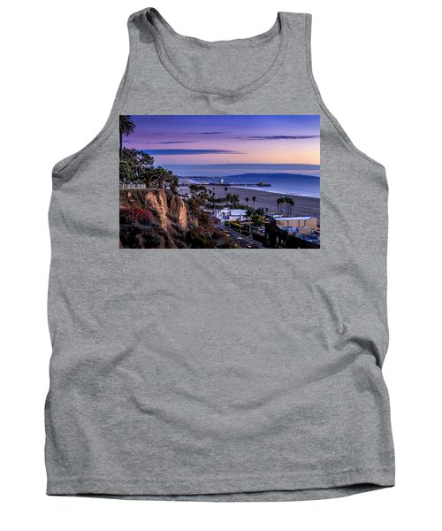 Sitting On The Fence - Santa Monica Pier Tank Top