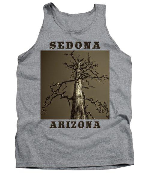 Skeletal Tree Sedona Arizona Tank Top