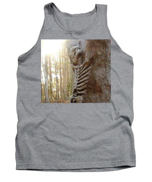 Skeleton Tree Tank Top