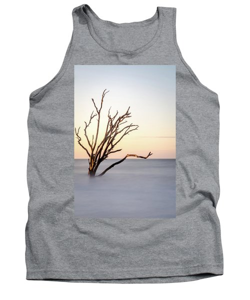 Skeleton Tree In The Ocean Tank Top