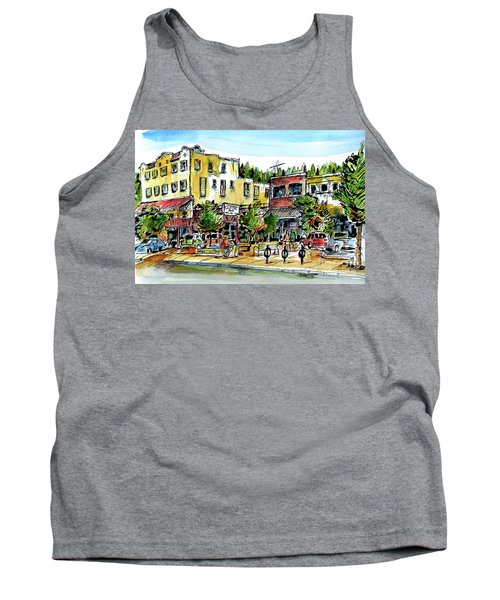 Sketch Crawl In Truckee Tank Top