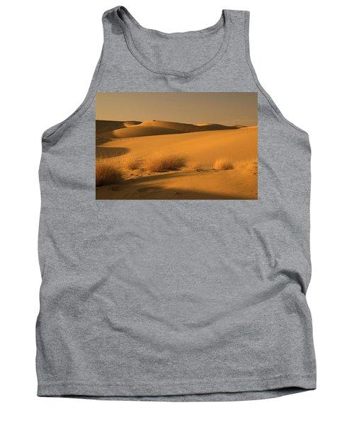 Skn 1124 The Desert Landscape Tank Top by Sunil Kapadia