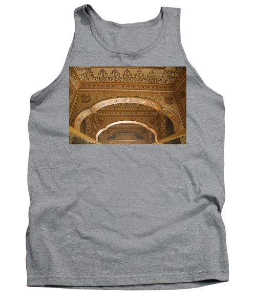 Skn 1248 Miniature Art Tank Top