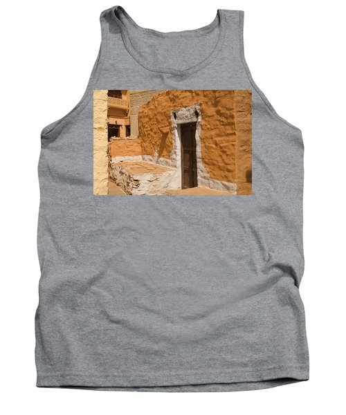 Skn 1264 The Thatched House Tank Top by Sunil Kapadia
