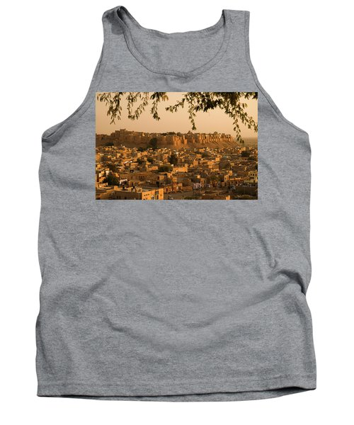 Skn 1334 Golden City Tank Top