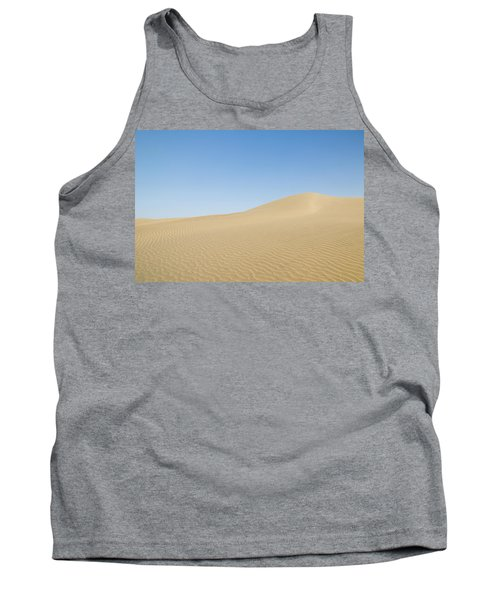 Skn 1412 The Ripples On The Slope Tank Top by Sunil Kapadia