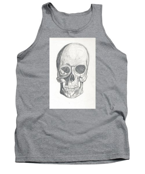 Skull Study 2 Tank Top
