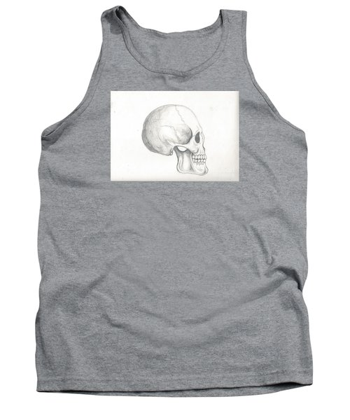 Skull Study Tank Top