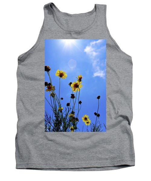 Sky Flowers Tank Top